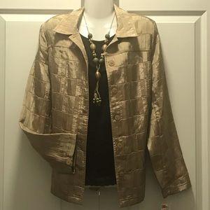 Lovely Golden blouse/blazer